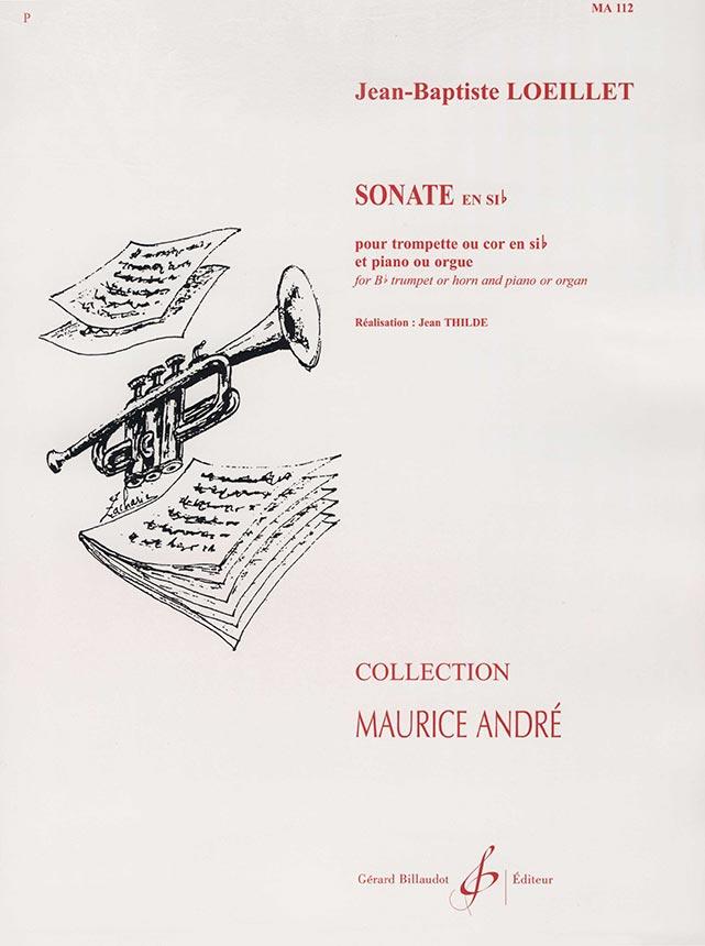 Jean Baptiste Loeillet:  Sonate en Sib Majeur