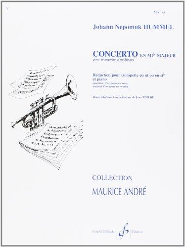 Johann Nepomuk Hummel: Concerto En Mi Flat Majeur