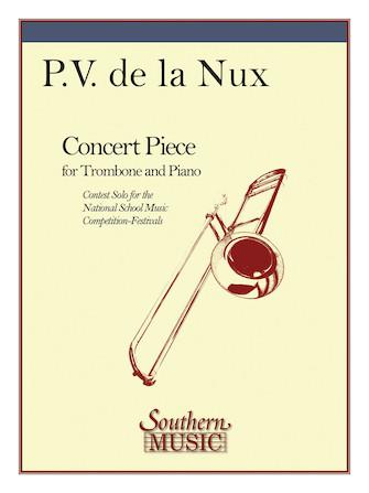 de La Nux: Concert Piece for Trombone and Piano