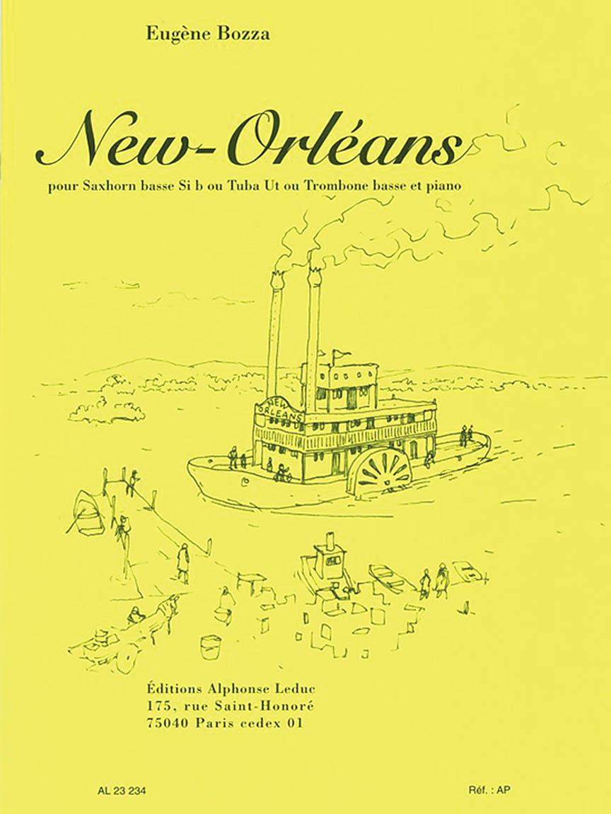 Bozza: New Orleans for Bass Trombone