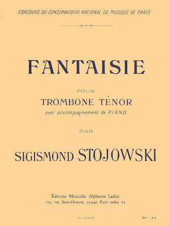 Stojowski: FANTASIE. Tenor trombone and piano